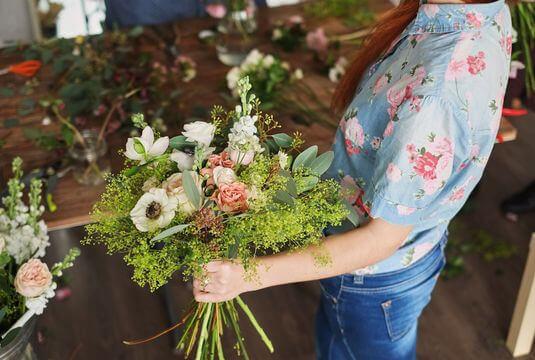 Confectionner des bouquets